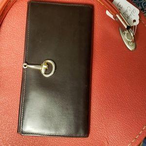 Auth. Vintage Gucci wallet